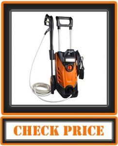 2180 PSI 2.4 GPM 15-Amp Electric Pressure Washer 1800W Power Cleaner Machine with Sprayer and High-Pressure Hose