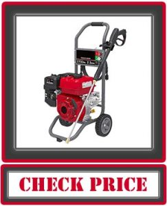 A-iPower APW2700C 7HP High-Pressure Washer 2700 PSI 2.3 GPM CARB Complied Gas Powered