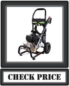Cacat Gas Pressure Washer 3600PSI 212CC, 2.8GPM Gas Powered Power Washer