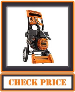 Generac 6595 2,500 PSI 2.3 GPM 196cc OHV Gas Powered Residential Pressure Washer