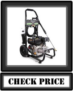 Jackoering 3600PSI 2.8GPM Gas Pressure Washer, 212CC Gas Powered Power Washer