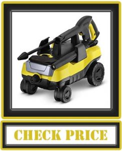 Karcher K3 Follow-Me Electric Power Pressure Washer with 4 Rolling Wheels, 1800 PSI, 1.3 GPM