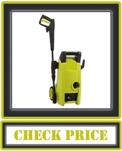 Sun Joe SPX1000 1450 Max Electric Pressure Washer, Green