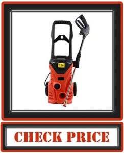 X-BULL Pressure Washer 2500PSI 1.8GPM Electric Power Washer Orange