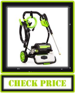 Greenworks 2000 PSI 1.2 GPM Electric Pressure Washer, GPW2000-1