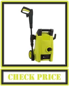 Sun Joe SPX1000 1450 Max PSI 1.45 GPM 11.5-Amp Electric Pressure Washer, Green