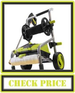 Sun Joe SPX4001-PRO 2030 MAX PSI 1.76 GPM 14.5 Amp Electric Pressure Washer and Hose Reel