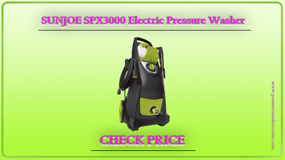 SUN JOE SPX3000-MAX 2800 MAX PSI High Performance Pressure Washer