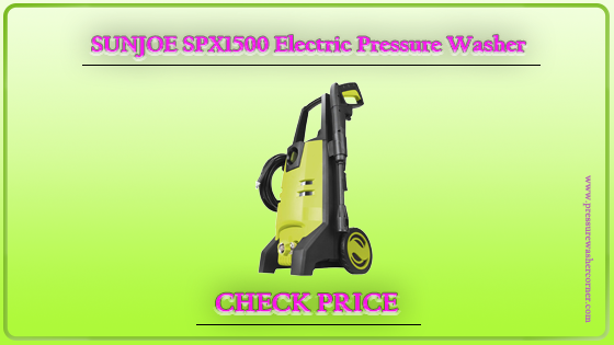 Sun Joe SPX1500 Pressure Washer