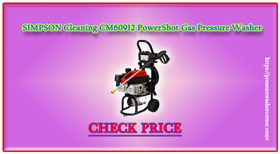 SIMPSON Cleaning CM60912 Clean Machine Gas Pressure Washer (Reviews 2020)