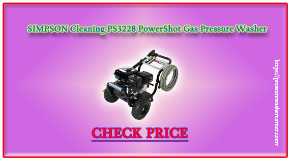 """Power washer and pressure washers are quite similar machines that we used for outside cleaning tasks. The difference between pressure and power washer machine is the hot water; that is used in power machine while pressure washer is tend with normal water. Usually a pressure washer machine comes with 1200 PSI to 4000 PSI and 1.2 GPM to 4000 GPM flow of water. These machines are used for cleaning outside muddy areas of home, resorts, offices, hotels, and related such as; driveways, park blocks, Greasy concrete surface, outside stairs, main gate, car servicing and many others. In the market we have long chain of these machines on different designs and sizes. The price of a pressure/power machine is depending on the size and the quality of a machine. Some are available on cheap prizes having local material and lack of features while many are highly expensive. Basically an expensive machine is well featured also well made. Professionals use expensive and highly considerable machines for toughest tasks just like Simpson machine. If you are running a housekeeping company whether you have a petrol pump then surely """"PS3228 PowerShot Gas Pressure Washer""""by Simpson will make you inspired. Before starting the review of this machine let me give an idea about the brand. About the brand: Simpson is basically an America based manufacturing company that mainly designs constructive machine. Anchors and connectors are leading inventions of this company. Simpson was established in late 1950s and after 1990s the company got significant popularity. Simpson products are very popular in Germany, Europe and America. Today Simpson pressure/power machines are number 1 choice of professionals. It is only why they generate high pressure. Simpson machines are available at both online and offline markets. In online market Amazon is the best place to buy a Simpson machine. The company offers a reliable warrantee on its machines while the quality of its inventions is very high. Simpson PS3228 Power"""